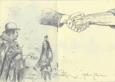 Extrait de Black Hills 1890 - Storyboard - Carnet 2