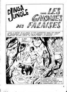 Extrait de Télé série bleue (Les hommes volants, Destination Danger, etc.) -31- Djinga jungle - Les gnomes des falaises