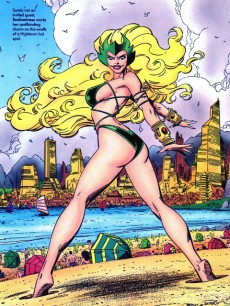 Extrait de Marvel Swimsuit Special (1992) -4- Mad for madripoor