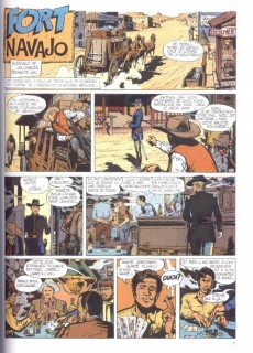 Extrait de Blueberry -1d97- Fort navajo