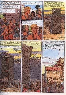 Extrait de (AUT) Martin, Jacques -MBD10- Alix & Lefranc - Le Monde de la BD - 10