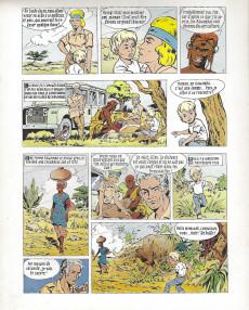 Extrait de Safari (Vandersteen) -8- Le masque