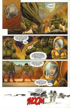Extrait de Hulk (Marvel Dark) -1- La Séparation
