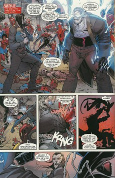 Extrait de Amazing Spider-Man (The) (2014) -12- Spider-verse part four: Any where but here