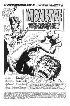 Extrait de L'incroyable Hulk (Éditions Héritage) -4- le monstre triomphe