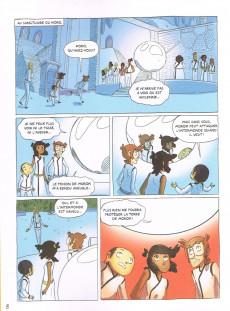 Extrait de Les aventuriers de l'intermonde -3- L'Enlèvement de Nephti