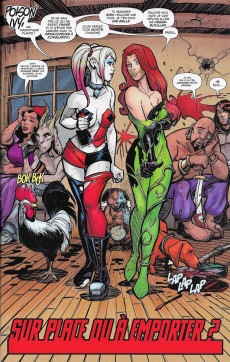 Extrait de Harley Quinn Rebirth -1- Bienvenue chez les Keupons