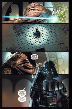 Extrait de Star Wars - Dark Vador (Panini Comics - 100% Star Wars) -INT- Absolute Star wars - Dark Vador