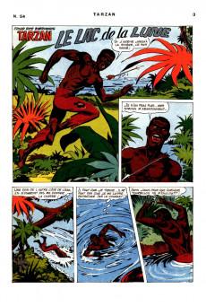 Extrait de Tarzan (2e Série - Sagédition) (Vedettes T.V.) -54- La bataille sous l'orage