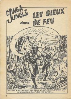 Extrait de Télé série bleue (Les hommes volants, Destination Danger, etc.) -36- Djinga Jungle - Les dieux de feu