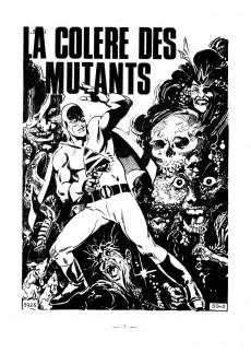 Extrait de Tenax -50- La colère des mutants