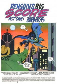 Extrait de The batman Adventures (1992) -1- Penguin's big score