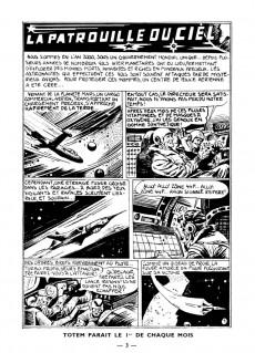 Extrait de Totem (1re Série) (1956) -1- La patrouille du ciel