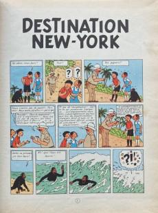Extrait de Jo, Zette et Jocko (Les Aventures de) -2B05- Destination New-York