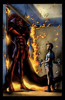 Extrait de Black Panther Vol.3 (Marvel - 1998) -1- The client