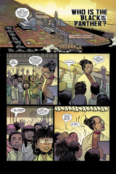 Extrait de Black Panther Vol.4 (Marvel - 2005) -4- Who is the Black Panther? Part four