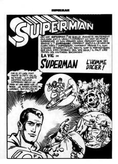 Extrait de Superman l'homme d'acier puis Superman et Batman (1re Série Interpresse) -1- Superman l'homme d'acier
