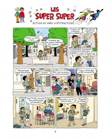 Extrait de Les super Super -5- Secrets et manigances