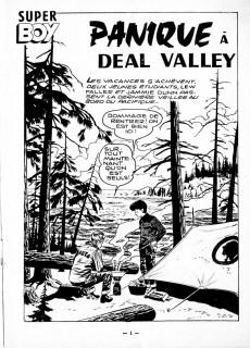 Extrait de Super Boy (2e série) -113- Panique à Deal Valley