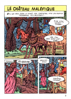 Extrait de Surnaturel poche -4- Le château maléfique