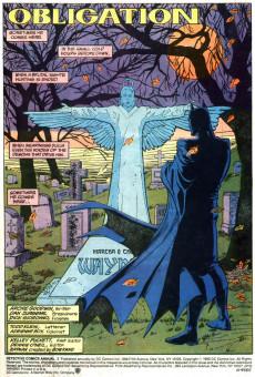 Extrait de Detective Comics (1937) -AN03- Obligation