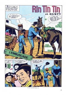 Extrait de Rin Tin Tin & Rusty (2e série) -92- L'embuscade