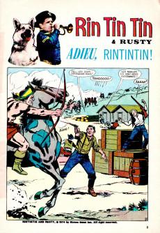 Extrait de Rin Tin Tin & Rusty (2e série) -58- Adieu, Rintintin !