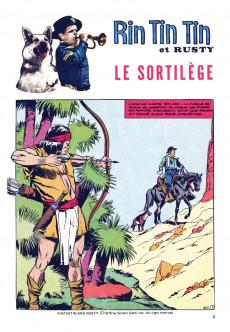 Extrait de Rin Tin Tin & Rusty (2e série) -6364- Le sortilège