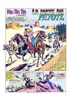 Extrait de Rin Tin Tin (Poster) -9- La piste du Peyotl