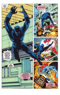 Extrait de Black Panther (Marvel Vintage) - Le monde va disparaitre !