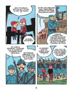 Extrait de Le fil de l'Histoire (raconté par Ariane & Nino) - La guerre des tranchées (L'enfer des poilus)