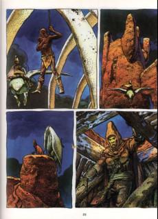 Extrait de Moebius œuvres complètes -2a82- L'Homme est il bon ? Arzach