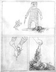 Extrait de Vie et Mort du héros Triomphante