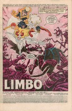 Extrait de New Mutants (The) (1983) -71- Limbo