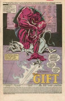 Extrait de New Mutants (The) (1983) -73- The Gift