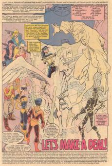 Extrait de New Mutants (The) (1983) -78- Let's Make a Deal!