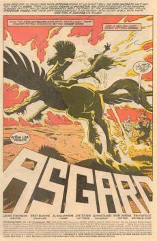 Extrait de New Mutants (The) (1983) -79- Asgard