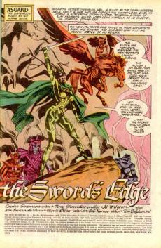 Extrait de New Mutants (The) (1983) -84- The Sword's Edge