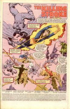 Extrait de New Mutants (The) (1983) -85- The Killing Stroke