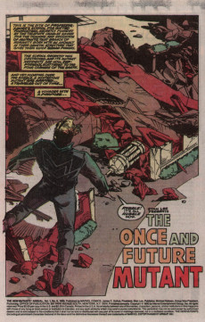 Extrait de New Mutants (The) (1983) -AN06- The Once and Future Mutant