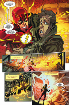 Extrait de Flash Rebirth -2- La Vitesse de l'ombre