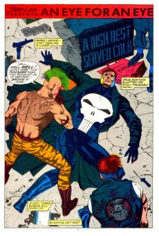 Extrait de Punisher War Journal Vol.1 (Marvel comics - 1988) -3- An Eye for an Eye, Chapter Three: A Dish Best Served Cold