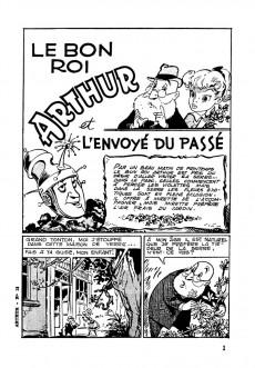 Extrait de Arthur (aux Éditions Mondiales) -12- L'envoyé du passé