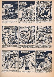 Extrait de Petit-Riquet reporter -56- Les forbans des grands bois