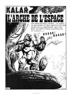 Extrait de Kalar -77- L'arche de l'espace