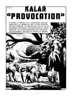 Extrait de Kalar -79- Provocation