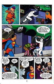 Extrait de Superman/Madman: Hullabaloo (1997) -3- Super Madness or They Call Me Mr. Mxyzptlk!