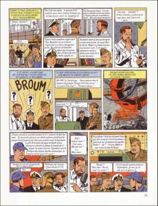 Extrait de Blake et Mortimer (Les Aventures de) -3b1991- Le Secret de l'Espadon - Tome 3