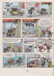 Extrait de Gaston -7a1980- Un gaffeur sachant gaffer