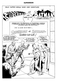 Extrait de Superman l'homme d'acier puis Superman et Batman (1re Série Interpresse) -7- Superman et Batman hors-la-loi !